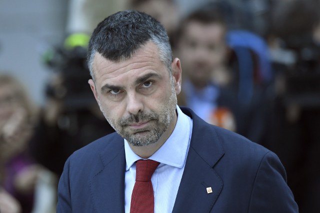 'End this terrible situation': Former Catalan business minister leaves jail after paying bond