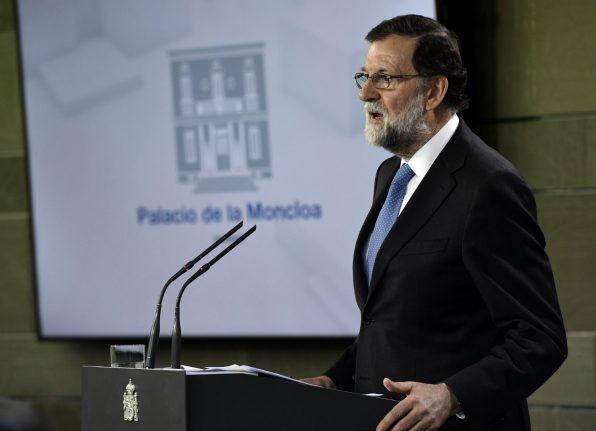 Rajoy in Barcelona for first Catalonia visit since direct rule
