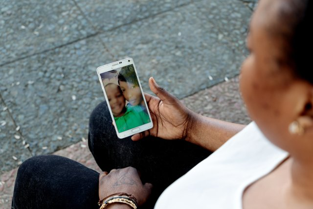Boy from Ivory Coast reuinited with mother in Spain after seven months apart
