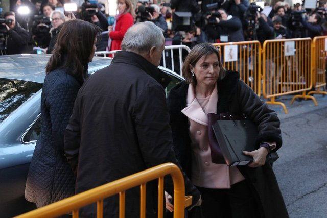 Catalan parliament speaker to be freed on Friday, lawyer says