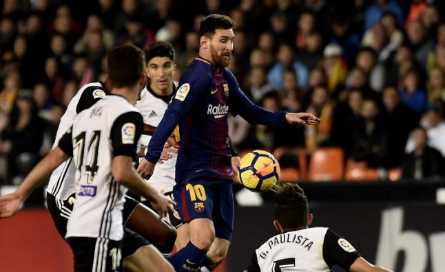 VIDEO: Barcelona shake off ref's goal-line blunder to share spoils in Valencia