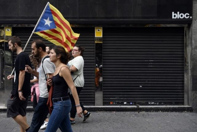 More than 2,700 firms have relocated from Catalonia since indy ref