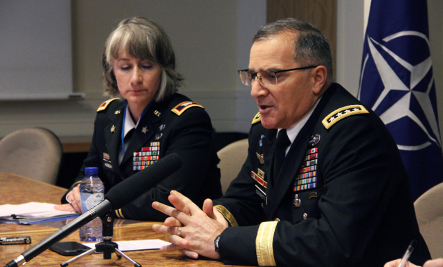 NATO general tells Russia to 'stop meddling' following accusations of Catalonia interference