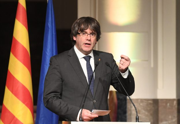 Puigdemont slams EU for backing Spanish PM Rajoy in 'coup'