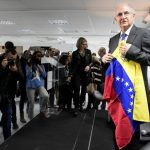 Former Caracas mayor vows to fight Maduro from exile in Madrid