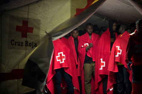 Over 250 migrants rescued off Spain