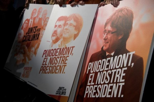 Ousted Catalan leader Puigdemont faces Belgian extradition hearing