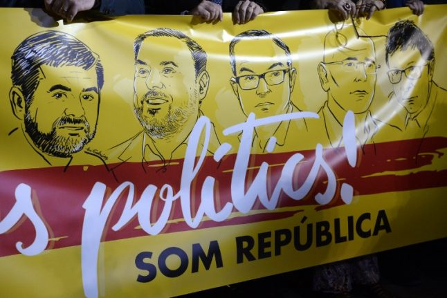 Judge orders Catalan ex-vice president and three others to remain in jail