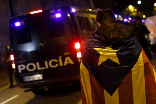 Scuffles break out as art is 'plundered' from Catalan museum
