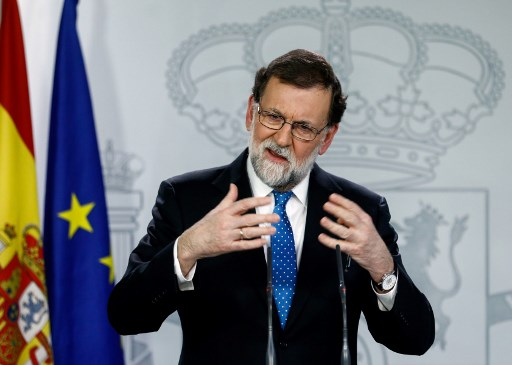'Ruling Catalonia from abroad is absurd': Spanish PM