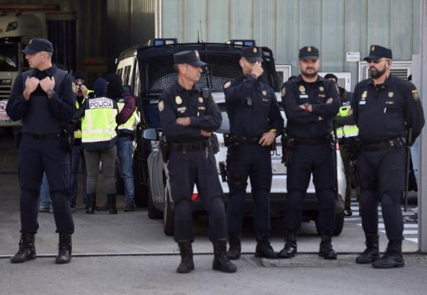 Spanish police bust gang who were building aero club to fly in cocaine