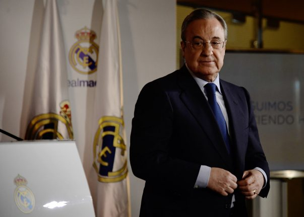 Real president Perez insists 2017 was a 'great year'