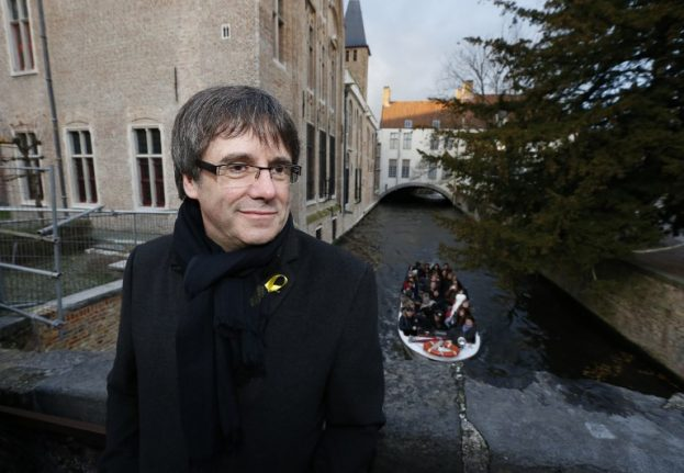 Puigdemont will remain in Belgium until Catalan elections over