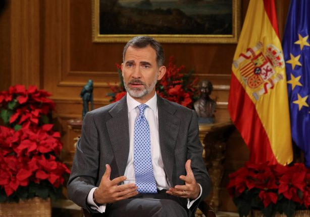 Spain's king urges Catalan lawmakers to avoid 'confrontation'