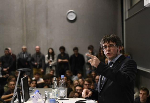 Sacked Catalan leader vows to lead despite Spain 'threats'