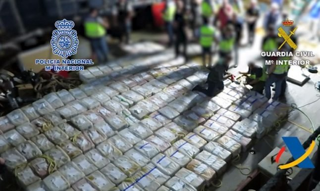 2017 was a great year for cocaine busts in Spain