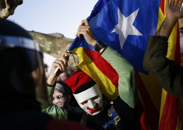 Spain risks downgrade to 'flawed democracy' over Catalonia