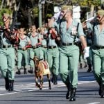 Too fat to fight: Spanish Legion soldiers put on diet