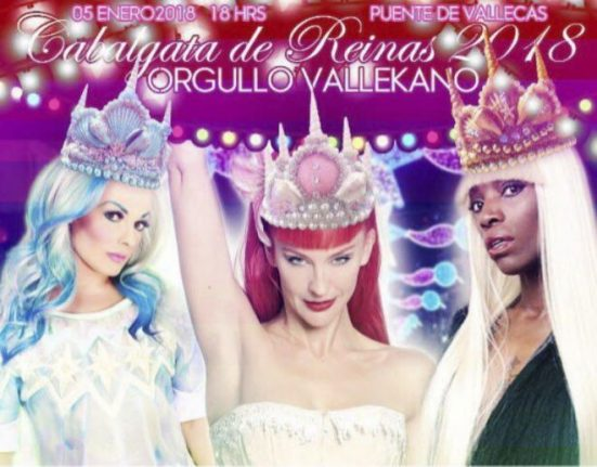 Outrage as Madrid chooses drag queen for traditional Three Kings parade