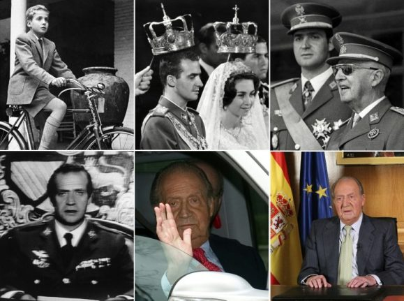 IN PICS: Key moments in the life of King Juan Carlos