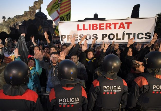 Jailed Catalan leaders appeal to United Nations