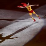 WATCH: Spain's Olympic Bronze figure skater is the superhero we all need