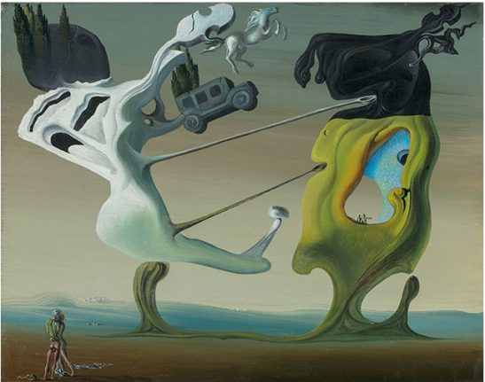 Two rediscovered Dalí paintings up for sale for first time