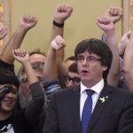 Puigdemont refuses to rule out fresh elections in Catalonia