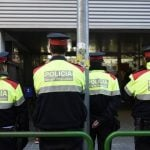 Catalan police suspends officer without pay for writing in Spanish