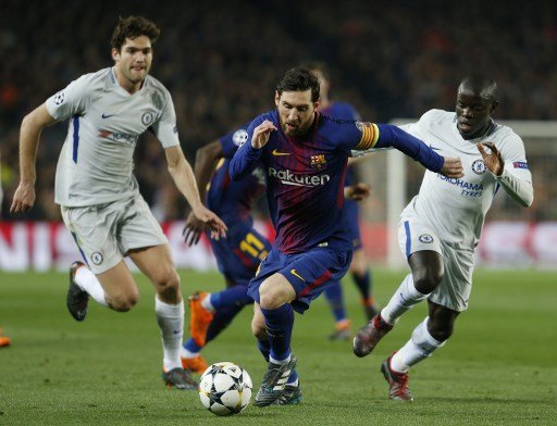 Messi hits 100th Champions League goal as Barça knock out Chelsea