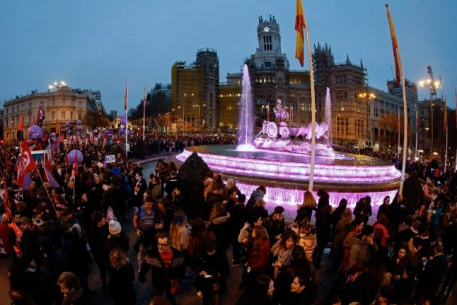 GALLERY: Millions take to the streets for women's rights