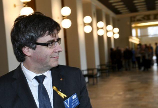 UN experts register claim Spain abusing Puigdemont's rights