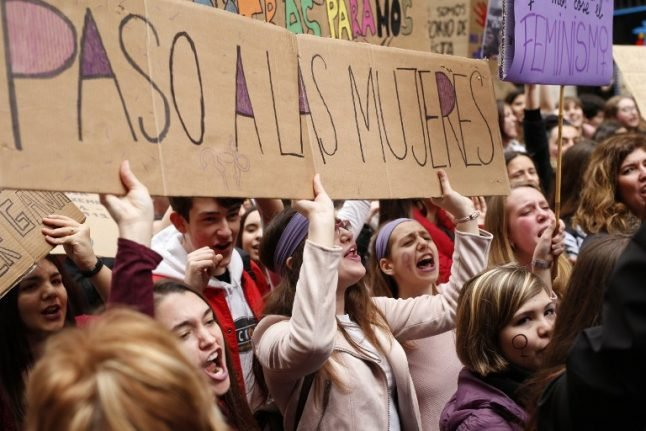 IN PICS: Spanish women stage unprecedented strike for rights