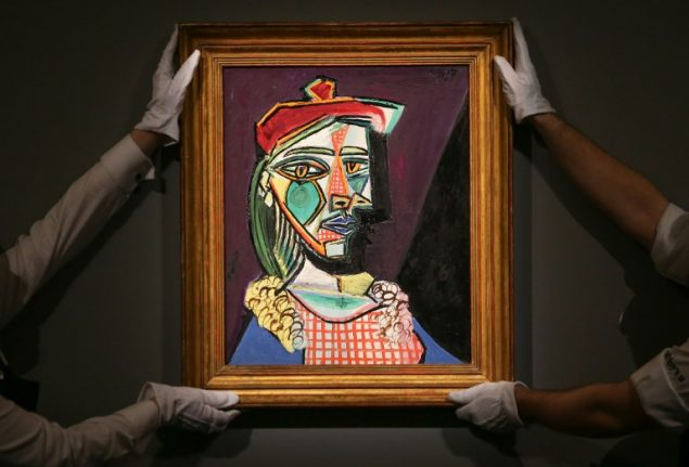 Picasso's hidden mistress sells for record £50 million