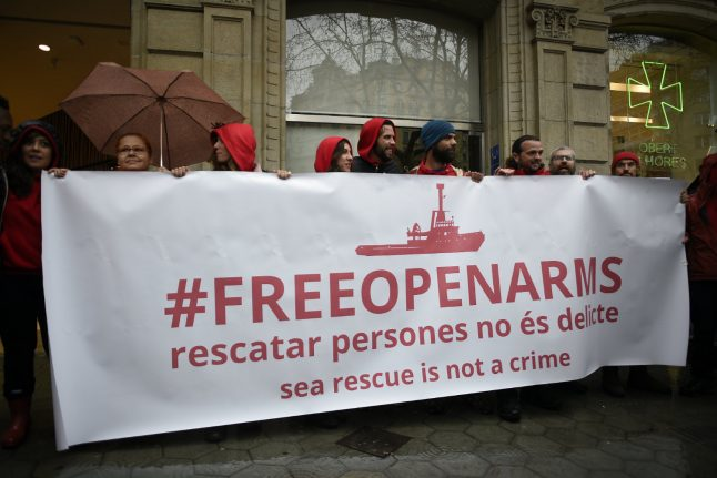 Spanish migrant rescuers hit out at Italian boat seizure