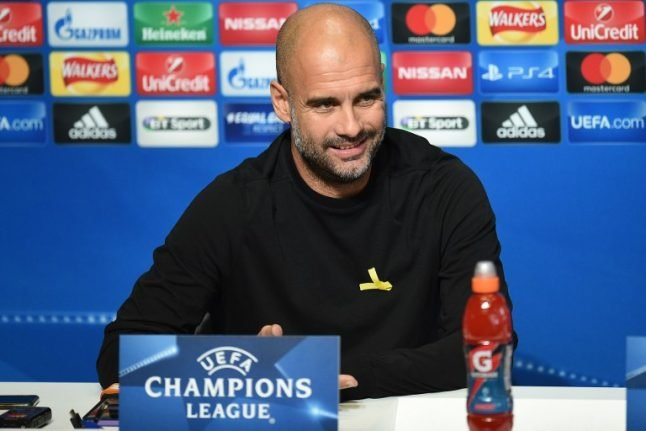 Pep Guardiola ready to give up 'yellow ribbon' Catalonia protest at City's request