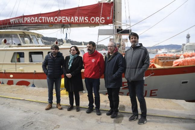 Spanish NGO ship seized by Italy for saving migrants from Libya return