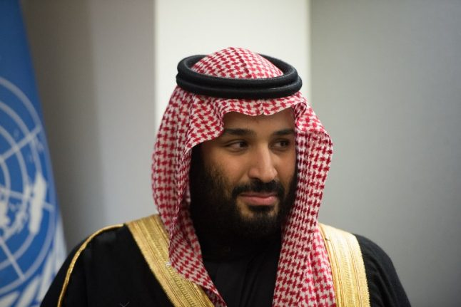 Saudi prince to visit Spain as part of global charm offensive