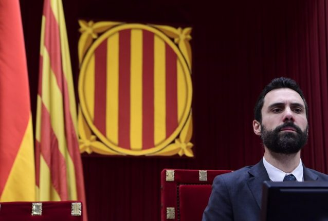 Catalan assembly speaker urges release of jailed presidential candidate