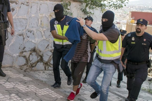 280 suspected jihadists apprehended by Spanish police since 2015