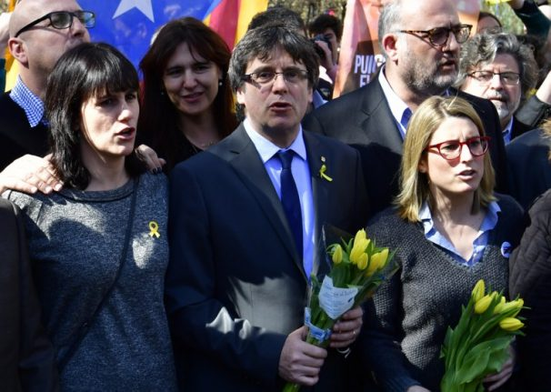 Puigdemont is allowed to stay in Berlin while case is heard