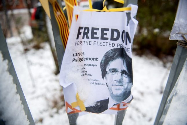 Puigdemont launches appeal against prosecution for secession bid