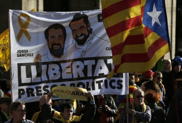 Spain court rules proposed Catalan leader must stay in jail