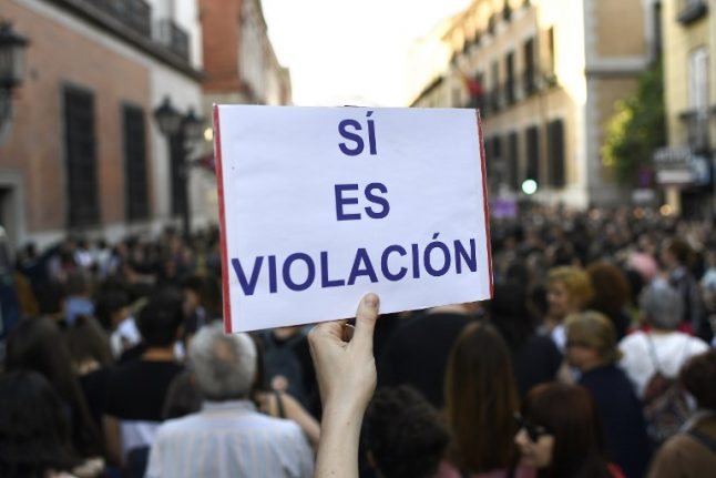 Thousands attend demonstrations in Spain in protest at judges' refusal to sentence 'The Pack' for rape