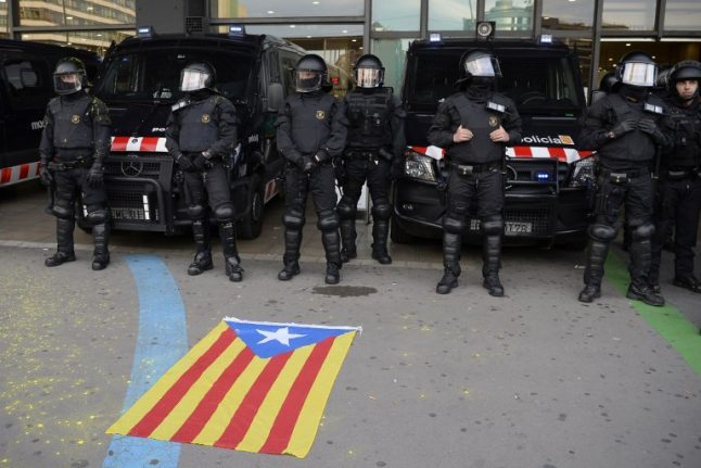 Police boost security in Catalonia as more protests loom