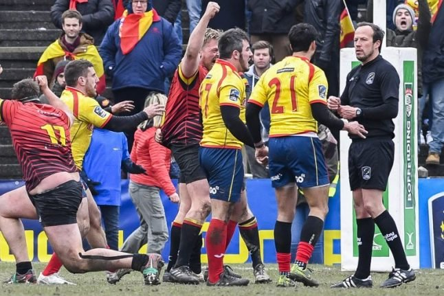 Five Spanish rugby players banned over row with referee