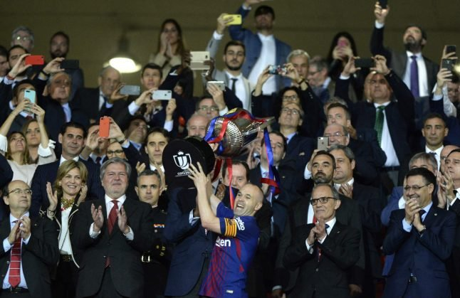 Andres Iniesta says 'emotional' final may be his last for Barça