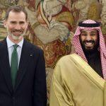 Smiles all round: Saudi crown prince visits Spain to sign €2.2 billion arms deal