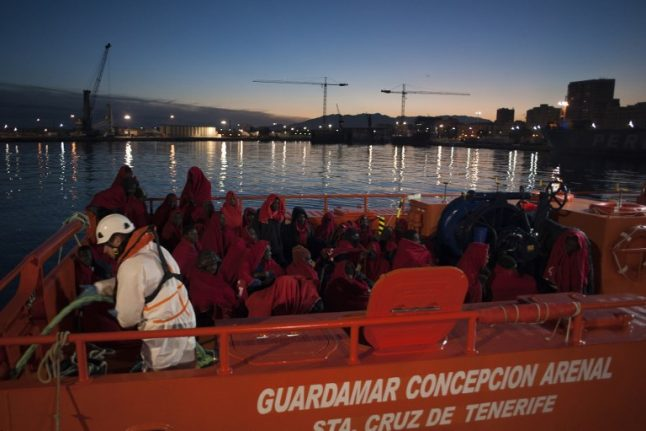 Five migrants found dead en route to Spain as police arrest 19 smugglers