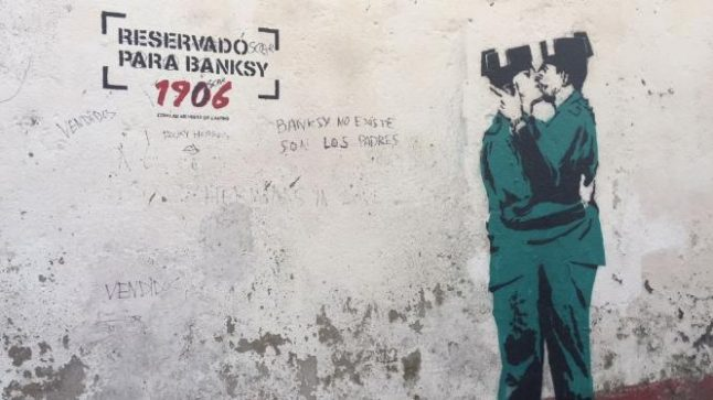 Could a mural in Galicia be the first Banksy artwork in Spain?